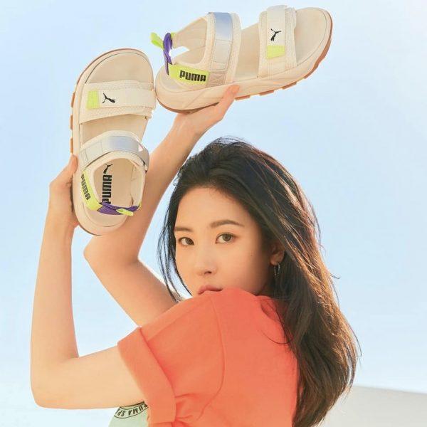 sandal Puma RS-Iri - White/Gum - Sneakerholic Vietnam