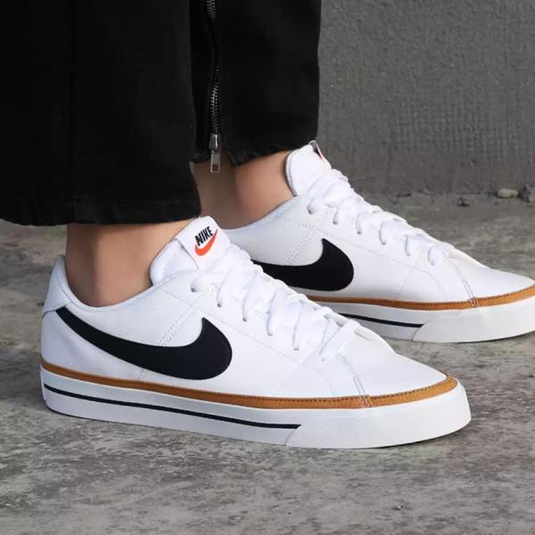 Nike Court Legacy Leather - White Desert Ochre - Sneakerholic Vietnam